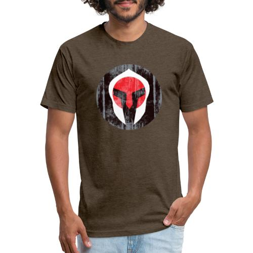 Spartan JP - Fitted Cotton/Poly T-Shirt by Next Level