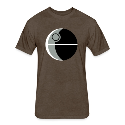 This Is Not A Moon - Fitted Cotton/Poly T-Shirt by Next Level
