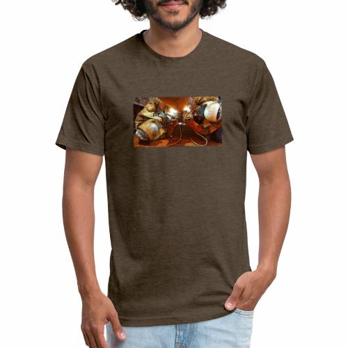 Pipeliners Down Under - Fitted Cotton/Poly T-Shirt by Next Level
