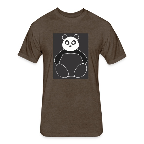 Fat Panda - Fitted Cotton/Poly T-Shirt by Next Level