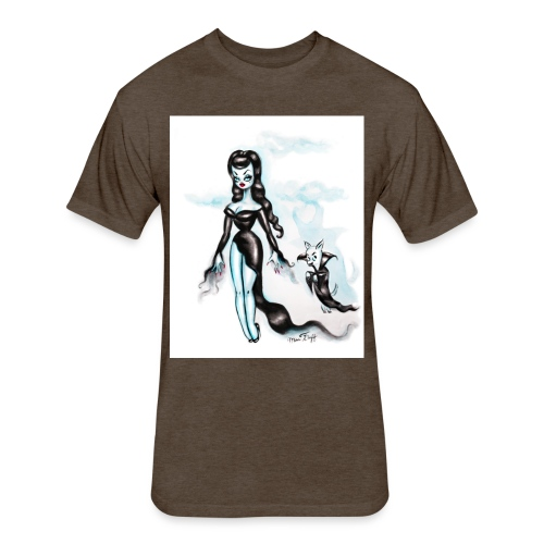 Vampire and Nosferachi - Fitted Cotton/Poly T-Shirt by Next Level
