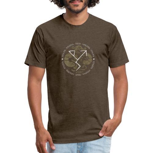 Witness True Sorcery Emblem (Alu, Alu laukaR!) - Fitted Cotton/Poly T-Shirt by Next Level