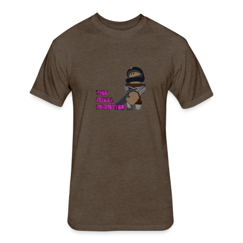 The Final Frontier - Fitted Cotton/Poly T-Shirt by Next Level