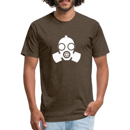 GAS MASK - No.002 - Fitted Cotton/Poly T-Shirt by Next Level