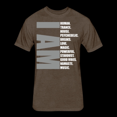 I Am Music! - Fitted Cotton/Poly T-Shirt by Next Level