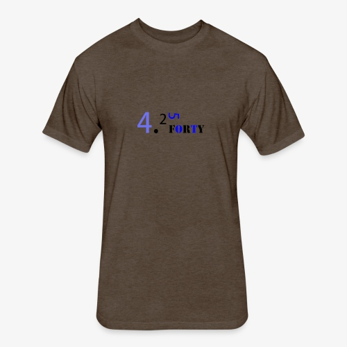 Logo 2 - Fitted Cotton/Poly T-Shirt by Next Level