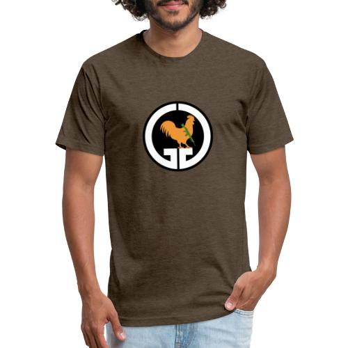 Gizzard Gary logo - Fitted Cotton/Poly T-Shirt by Next Level