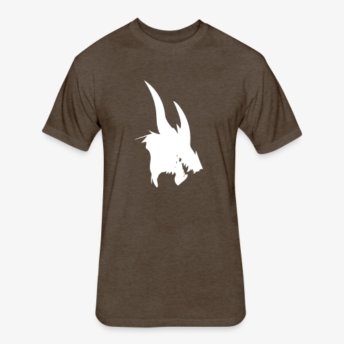 dragon sil - Fitted Cotton/Poly T-Shirt by Next Level