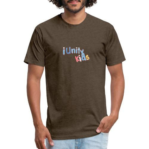 iunity kids design - Fitted Cotton/Poly T-Shirt by Next Level
