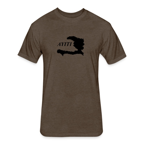 Hispaniola - Fitted Cotton/Poly T-Shirt by Next Level