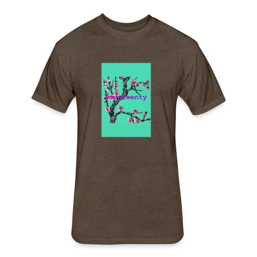4OUR2WENTY TEE - Fitted Cotton/Poly T-Shirt by Next Level