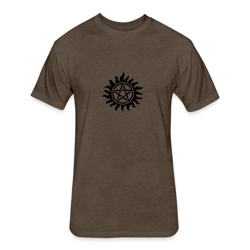 Supernatural Tattoo - Fitted Cotton/Poly T-Shirt by Next Level