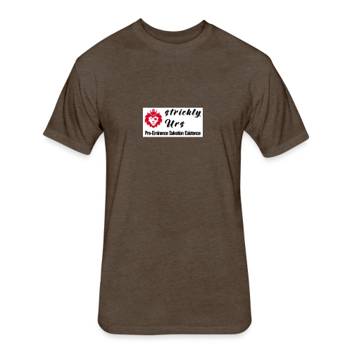 E Strictly Urs - Fitted Cotton/Poly T-Shirt by Next Level