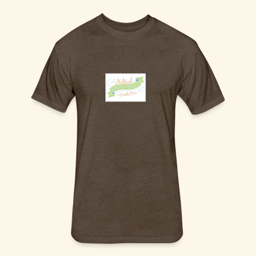 essential oils - Fitted Cotton/Poly T-Shirt by Next Level