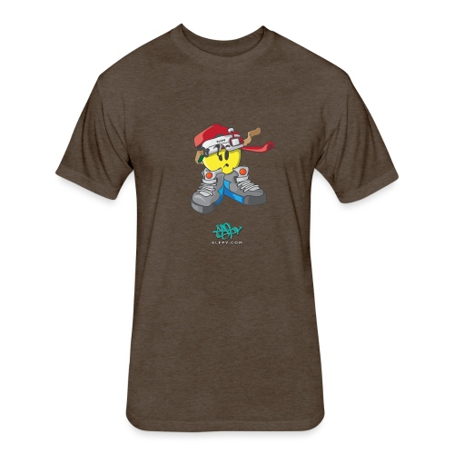 Elf Dude - Fitted Cotton/Poly T-Shirt by Next Level