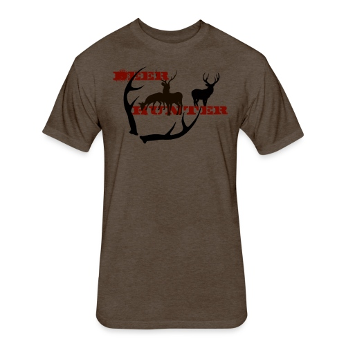 DEER HUNTER - Fitted Cotton/Poly T-Shirt by Next Level