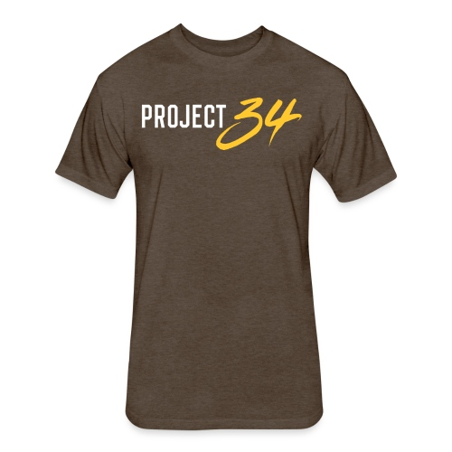 Padres_Project 34 - Fitted Cotton/Poly T-Shirt by Next Level