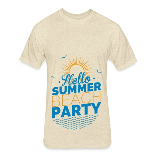 Summer party collection - Fitted Cotton/Poly T-Shirt by Next Level