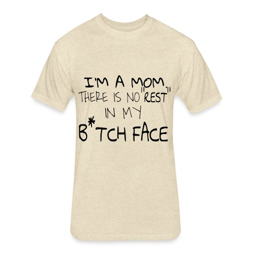 Bitch Face - Fitted Cotton/Poly T-Shirt by Next Level