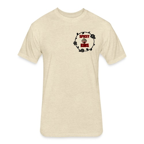 spicey kids logo - Fitted Cotton/Poly T-Shirt by Next Level