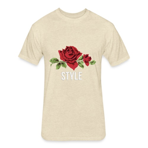 ROSE - NEWSTyLE - Fitted Cotton/Poly T-Shirt by Next Level