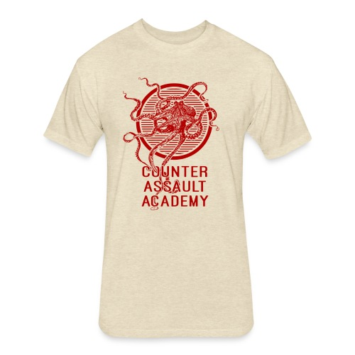 Counter Assault Academy Octopus Logo - Fitted Cotton/Poly T-Shirt by Next Level