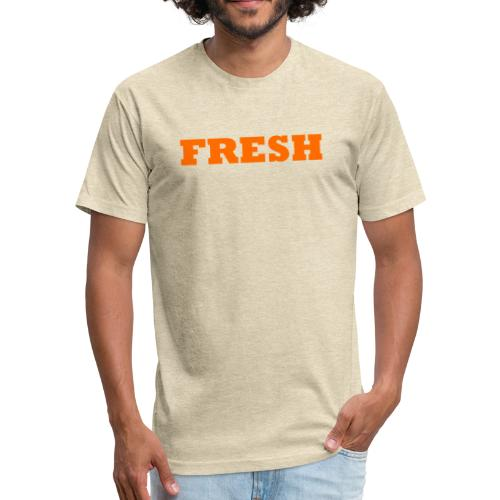 FRESH Premium Collection - Fitted Cotton/Poly T-Shirt by Next Level