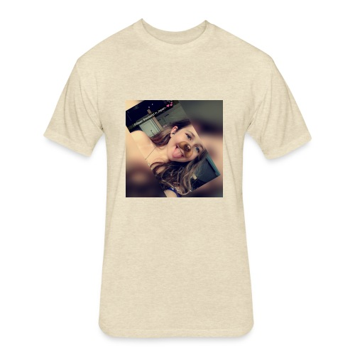 Cutie._.Gang - Fitted Cotton/Poly T-Shirt by Next Level