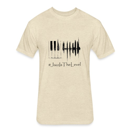 Jazz Is The Level T-Shirt Happy Apparel New York - Fitted Cotton/Poly T-Shirt by Next Level