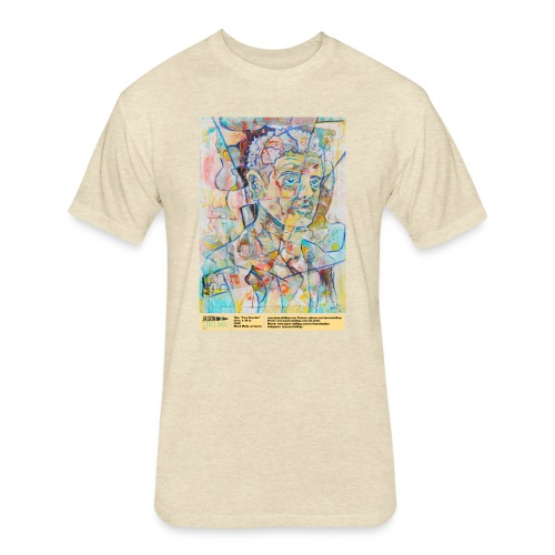 Tony Bourdain - Fitted Cotton/Poly T-Shirt by Next Level
