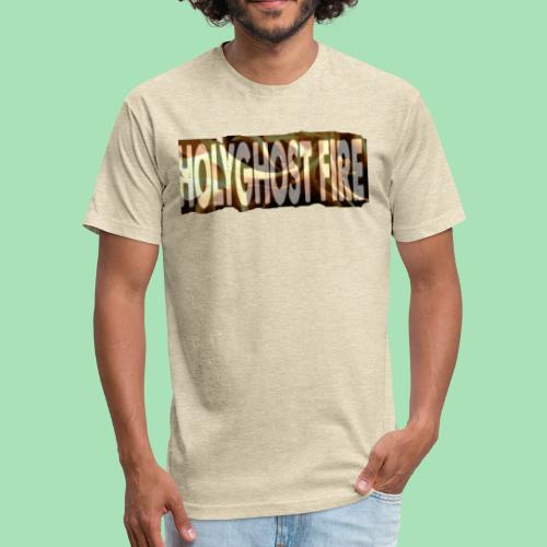 HOLYGHOST FIRE - Fitted Cotton/Poly T-Shirt by Next Level