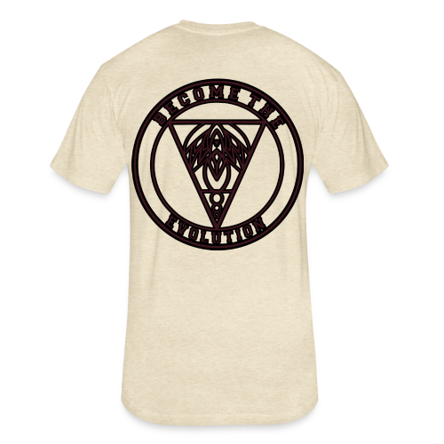 Circle Logo - Fitted Cotton/Poly T-Shirt by Next Level