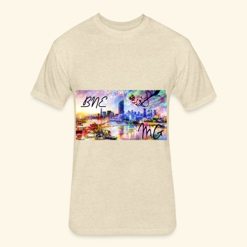 Brisbane - Fitted Cotton/Poly T-Shirt by Next Level
