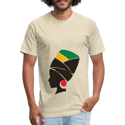 Original Kulture Sister - Fitted Cotton/Poly T-Shirt by Next Level