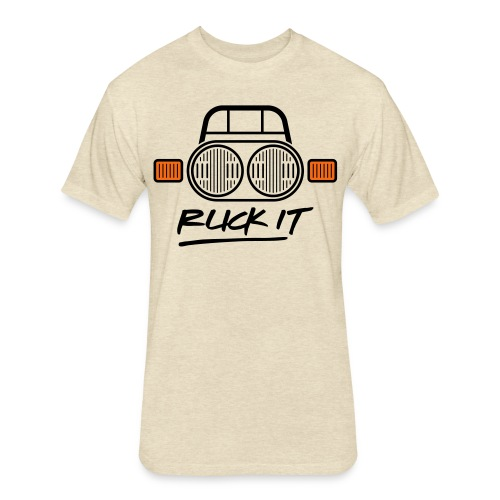 Ruck It - Fitted Cotton/Poly T-Shirt by Next Level