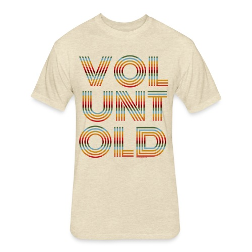 Voluntold Subdued - Fitted Cotton/Poly T-Shirt by Next Level