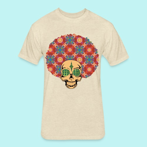 MACK DADDY SKULLY - Fitted Cotton/Poly T-Shirt by Next Level