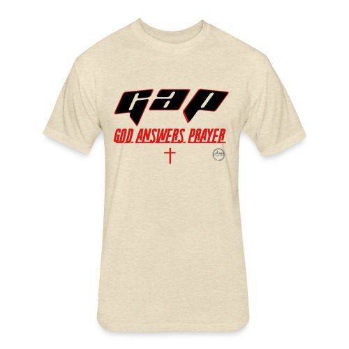 RCOMPASSION G.A.P. TEE - Fitted Cotton/Poly T-Shirt by Next Level