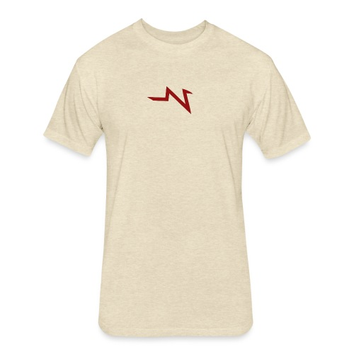 imageedit 1 9776327997 gif - Fitted Cotton/Poly T-Shirt by Next Level