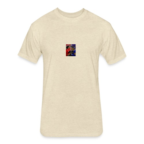 Bc - Fitted Cotton/Poly T-Shirt by Next Level