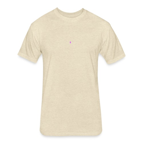 Blank purple - Fitted Cotton/Poly T-Shirt by Next Level