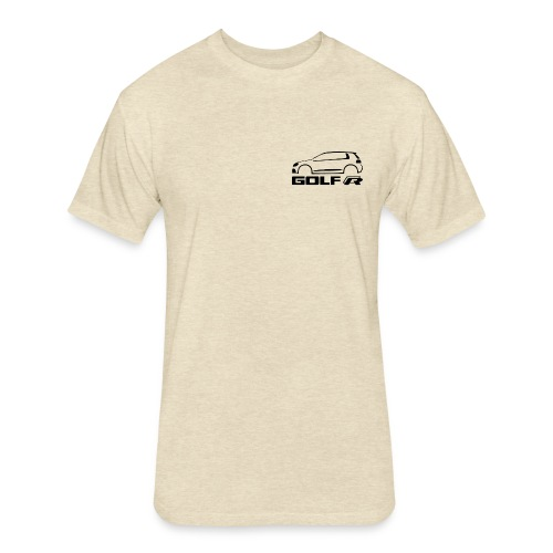 CAR R - Fitted Cotton/Poly T-Shirt by Next Level