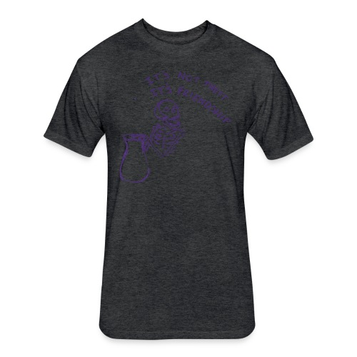 tax n friends - Fitted Cotton/Poly T-Shirt by Next Level
