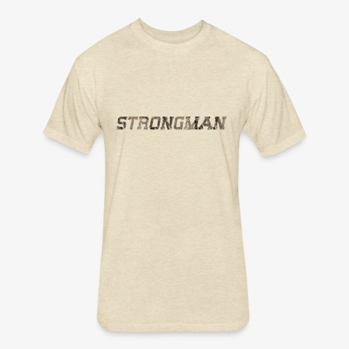 strongtee - Fitted Cotton/Poly T-Shirt by Next Level