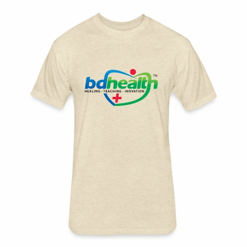 Medical Care - Fitted Cotton/Poly T-Shirt by Next Level