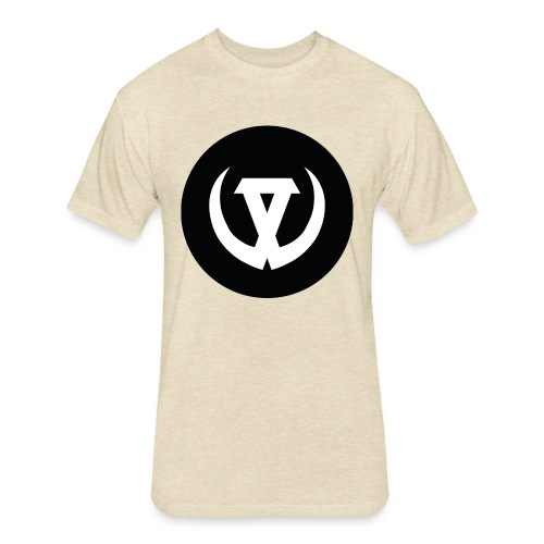 Symbol of Warriors - Fitted Cotton/Poly T-Shirt by Next Level
