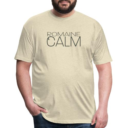 Romaine Calm - Fitted Cotton/Poly T-Shirt by Next Level