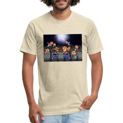 A Night at the Movies - Fitted Cotton/Poly T-Shirt by Next Level