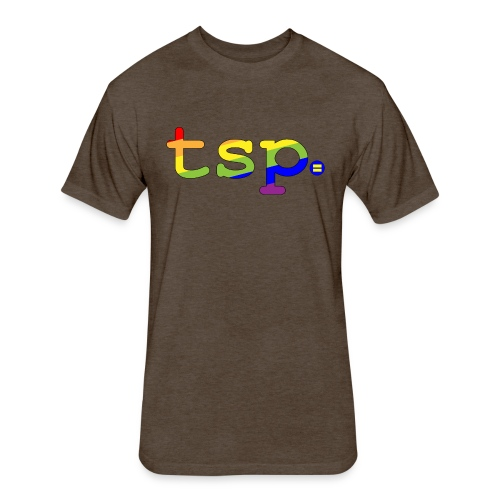 tsp pride - Fitted Cotton/Poly T-Shirt by Next Level