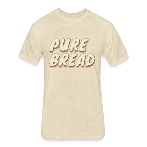 Pure Bread - Fitted Cotton/Poly T-Shirt by Next Level